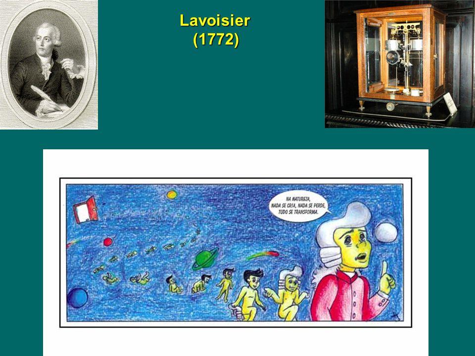 Lavoisier (1772)