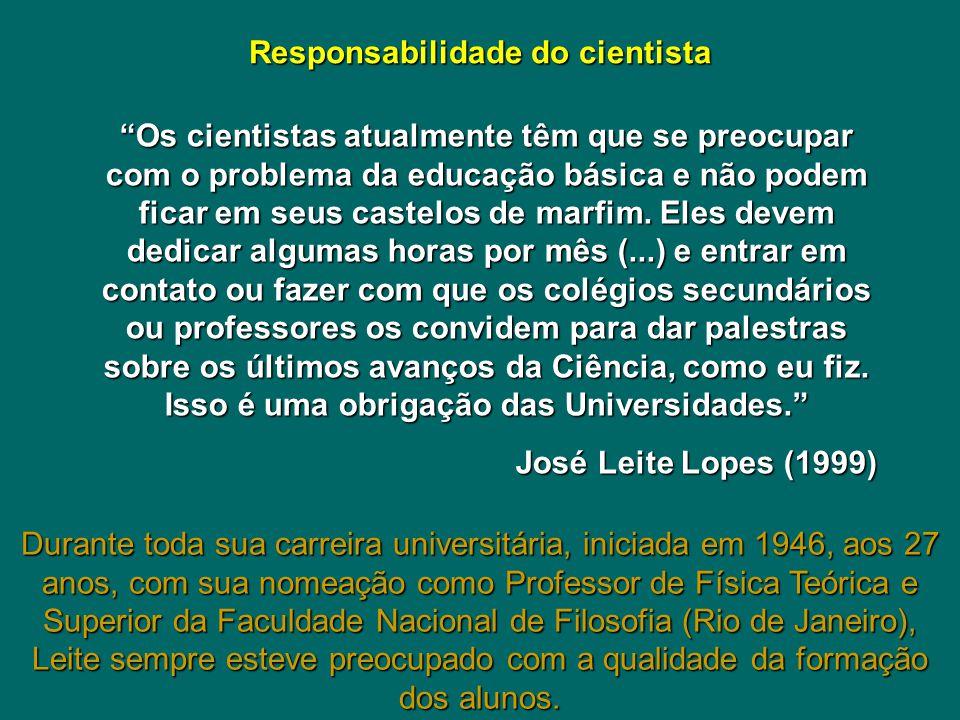 Responsabilidade do cientista