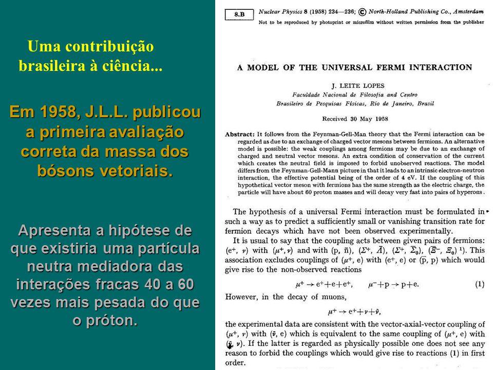 Uma contribuição brasileira à ciência...