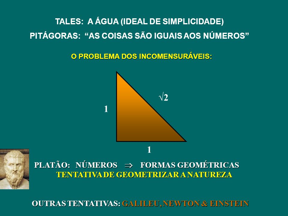 √2 1 TALES: A ÁGUA (IDEAL DE SIMPLICIDADE)