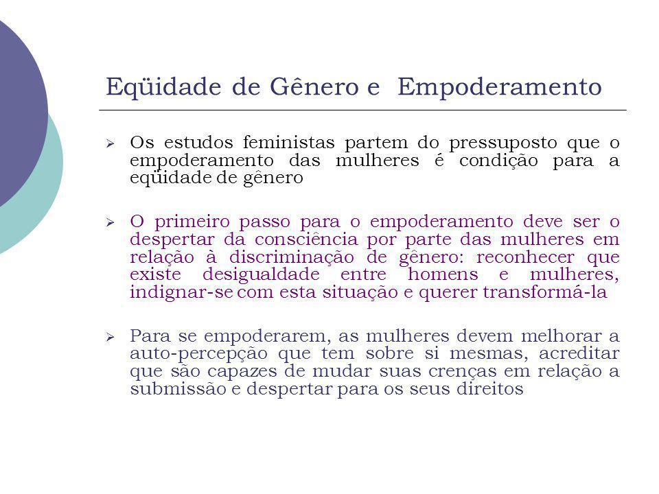 Eqüidade de Gênero e Empoderamento