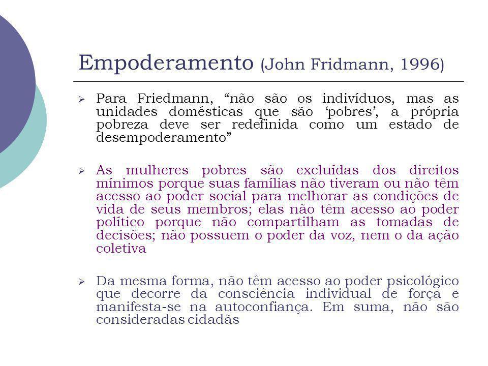 Empoderamento (John Fridmann, 1996)