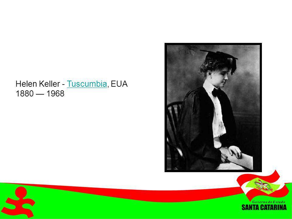 Helen Keller - Tuscumbia, EUA 1880 — 1968