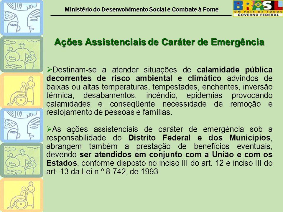 Ações Assistenciais de Caráter de Emergência