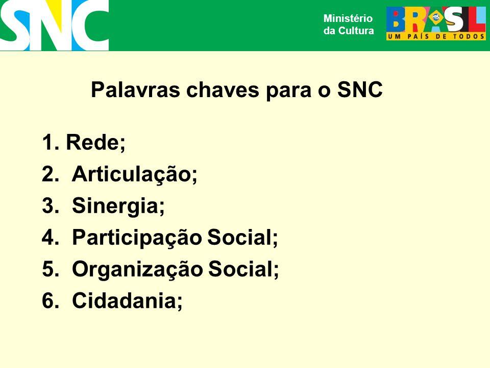 Palavras chaves para o SNC