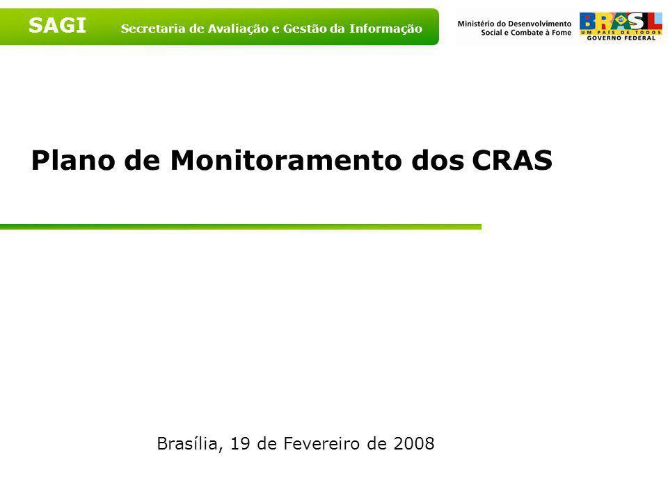 Plano de Monitoramento dos CRAS