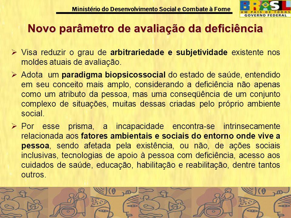 Novo parâmetro de avaliação da deficiência