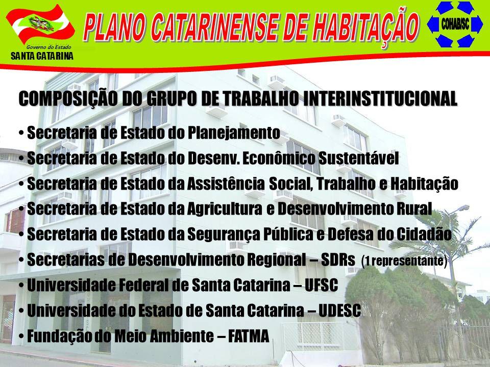 PLANO CATARINENSE DE HABITAÇÃO