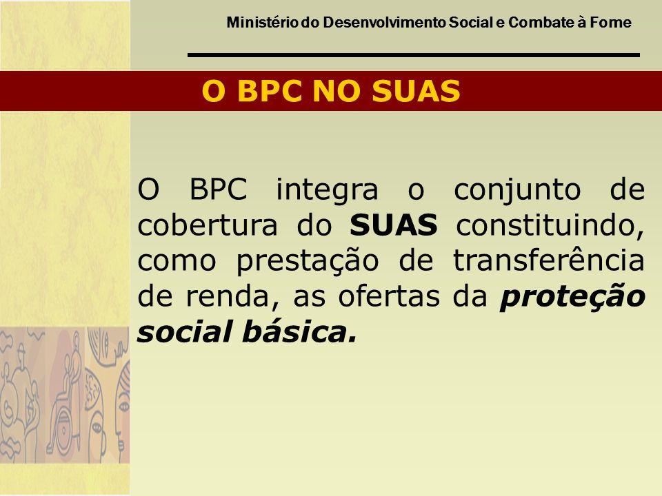 O BPC NO SUAS