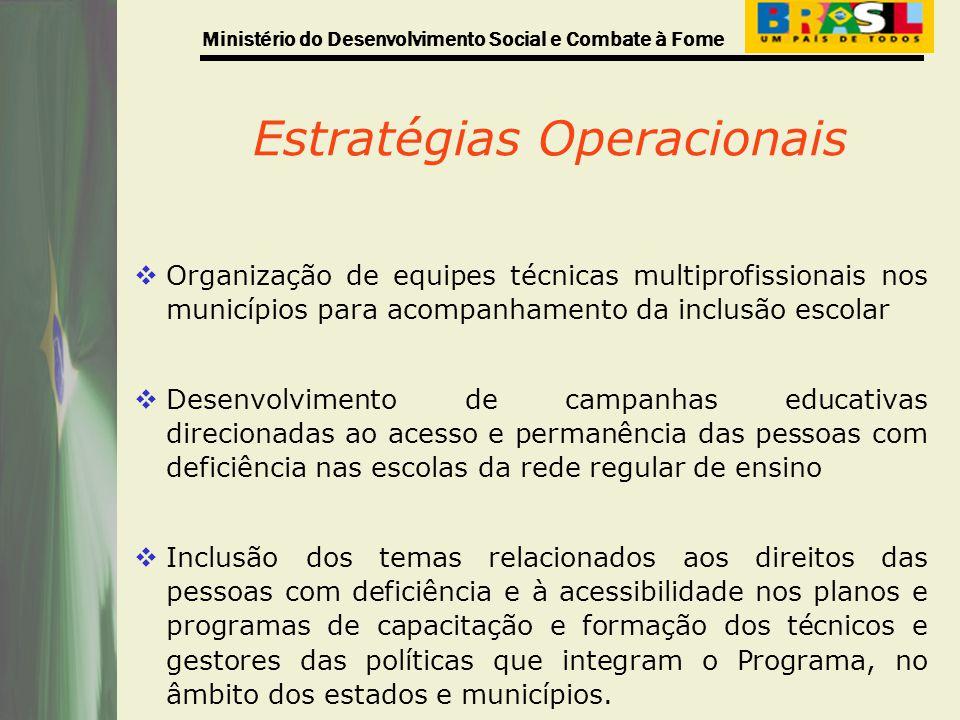Estratégias Operacionais