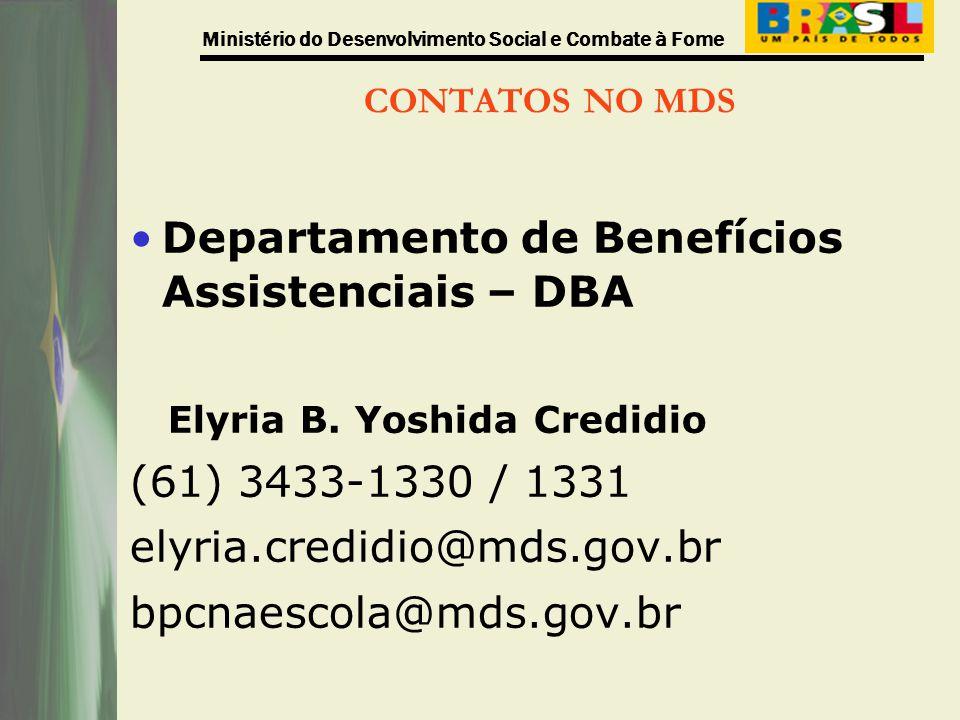 Departamento de Benefícios Assistenciais – DBA