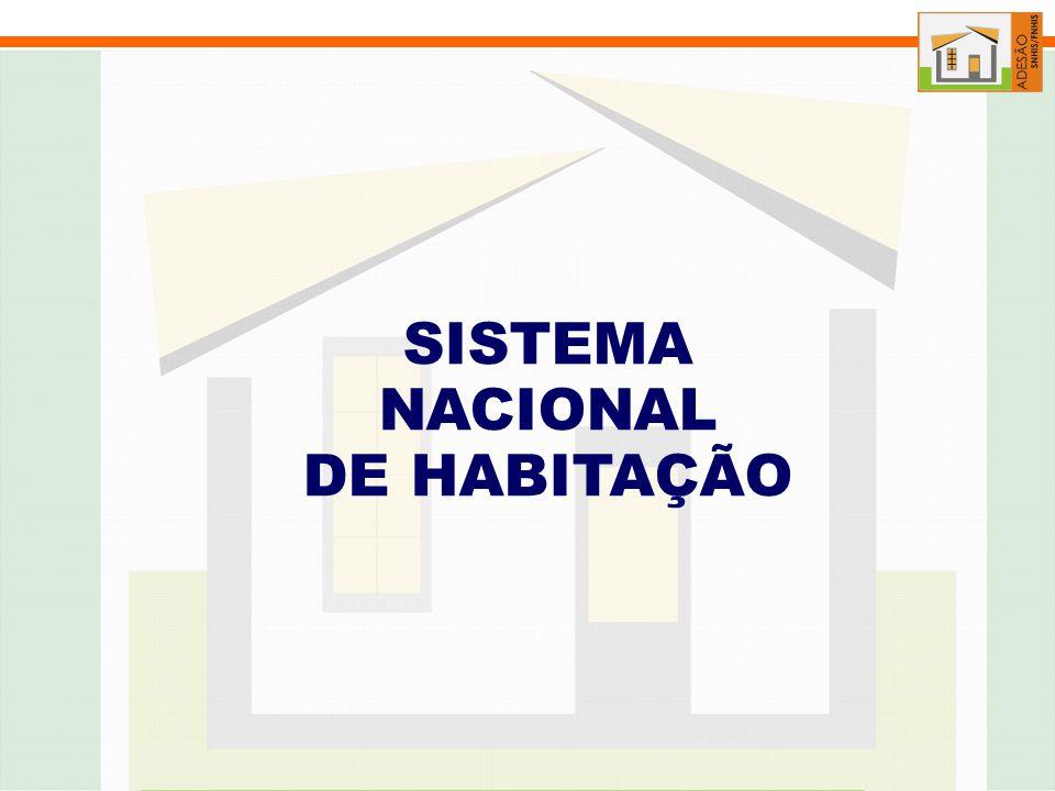 SISTEMA NACIONAL DE HABITAÇÃO