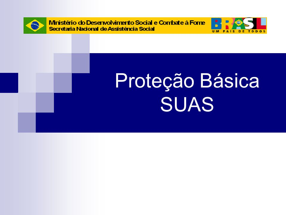 Proteção Básica SUAS