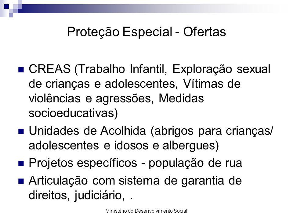 Proteção Especial - Ofertas