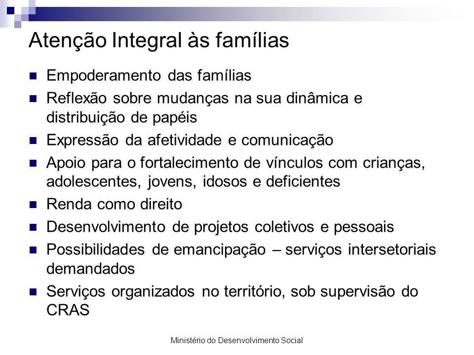 Atenção Integral às famílias
