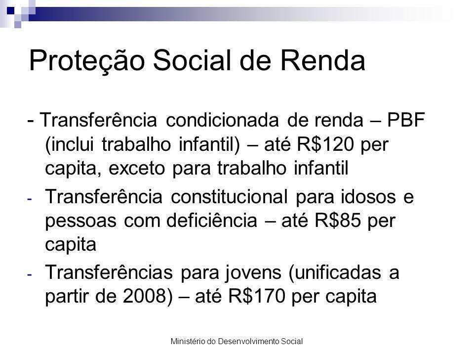 Proteção Social de Renda