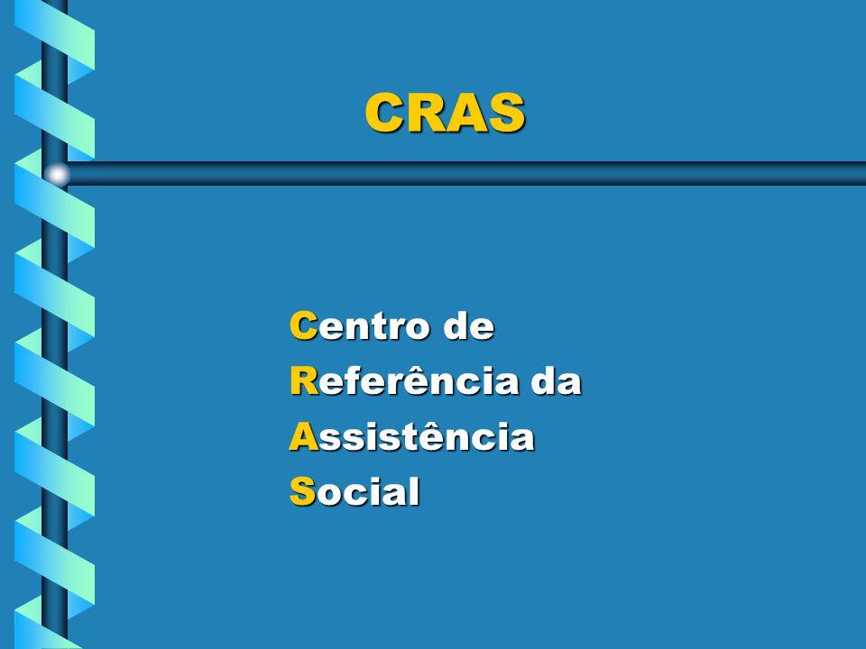 CRAS Centro de Referência da Assistência Social