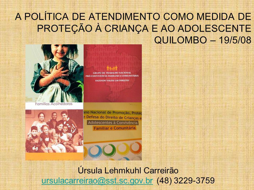 Úrsula Lehmkuhl Carreirão ursulacarreirao@sst.sc.gov.br (48) 3229-3759