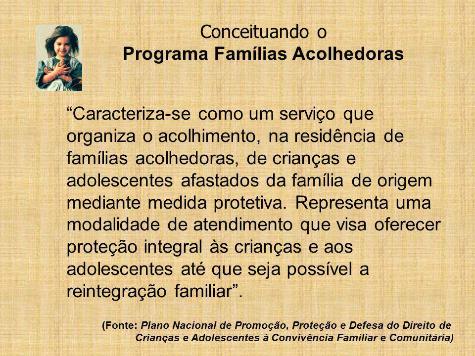 Programa Famílias Acolhedoras