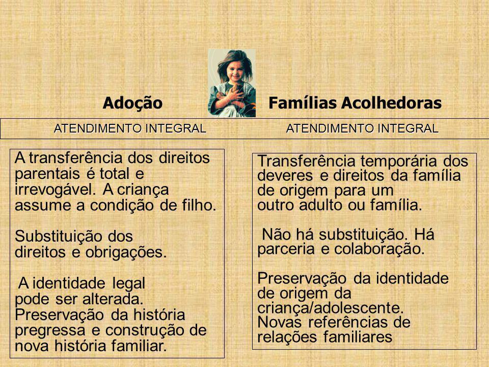 Adoção Famílias Acolhedoras