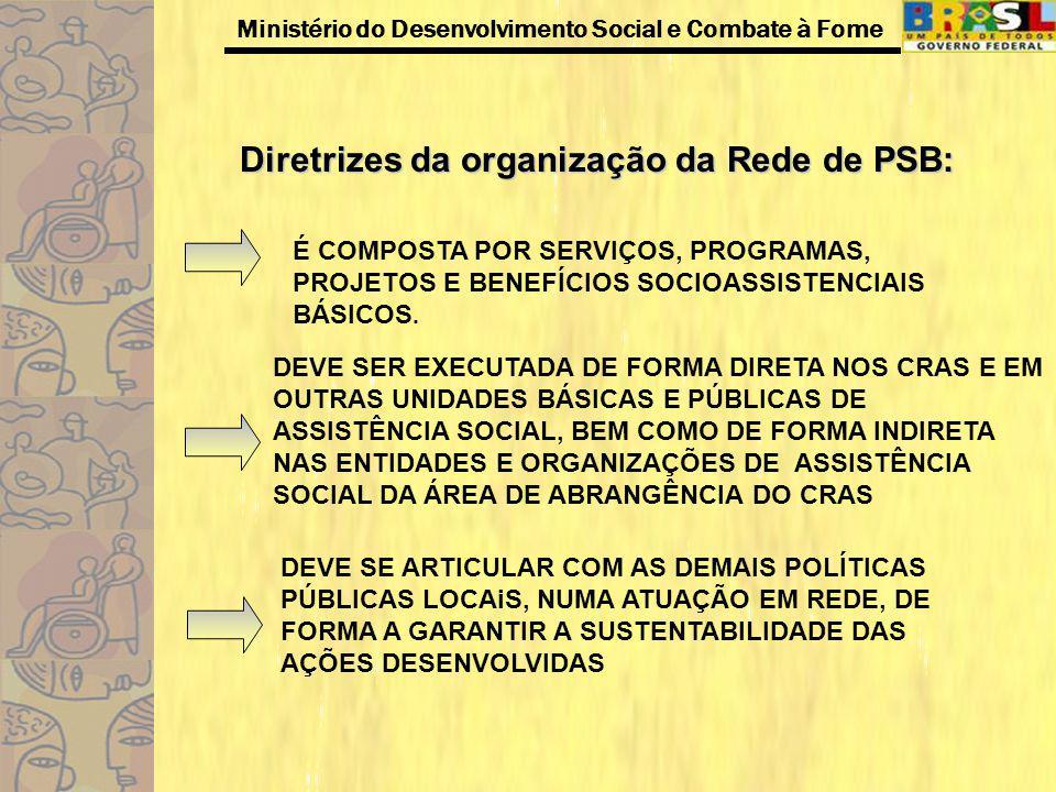 Diretrizes da organização da Rede de PSB: