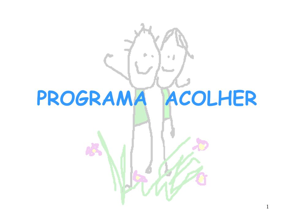 PROGRAMA ACOLHER