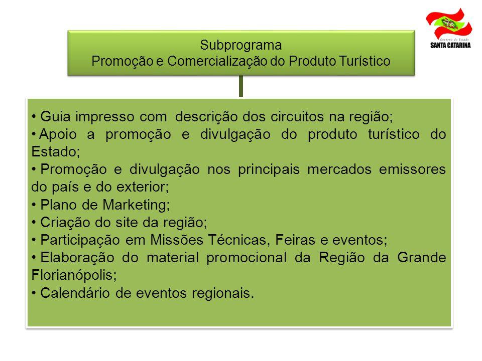 Promoção e Comercialização do Produto Turístico
