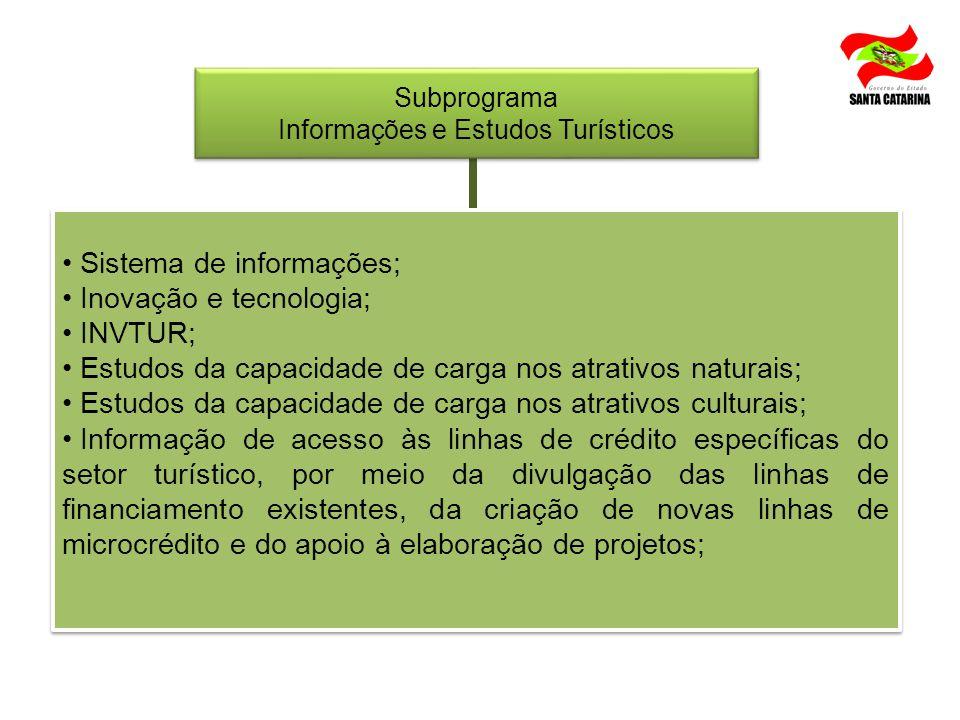 Informações e Estudos Turísticos