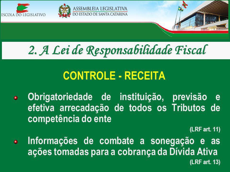 2. A Lei de Responsabilidade Fiscal