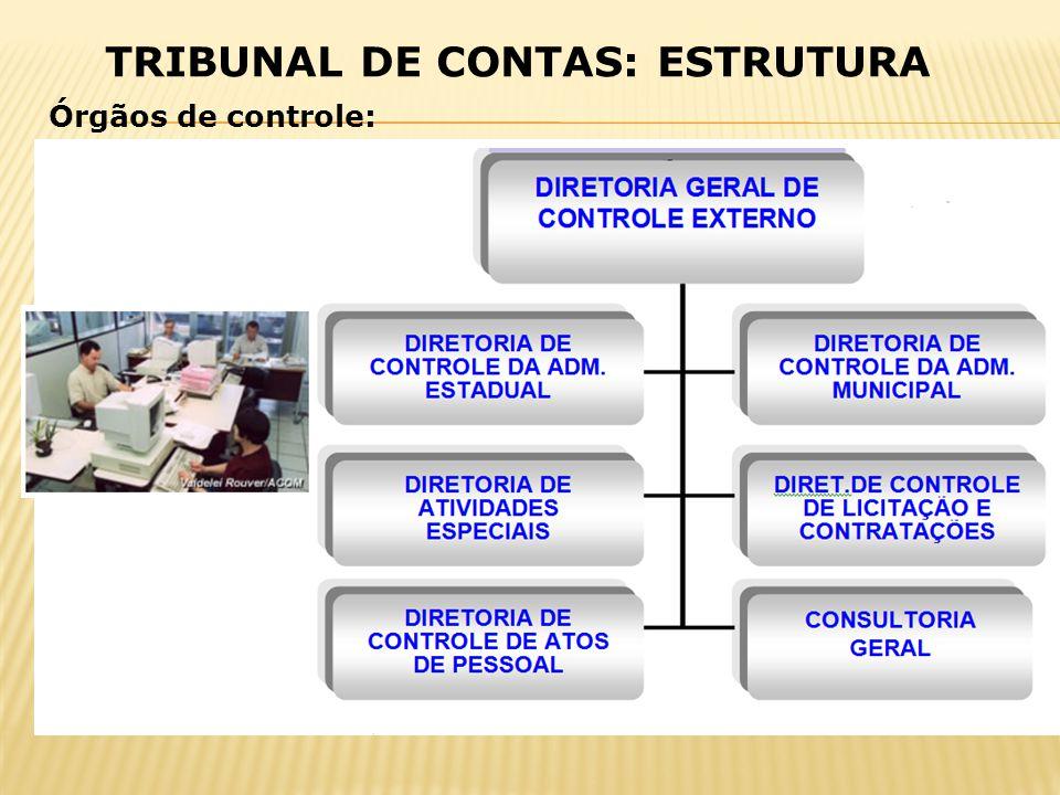 TRIBUNAL DE CONTAS: ESTRUTURA