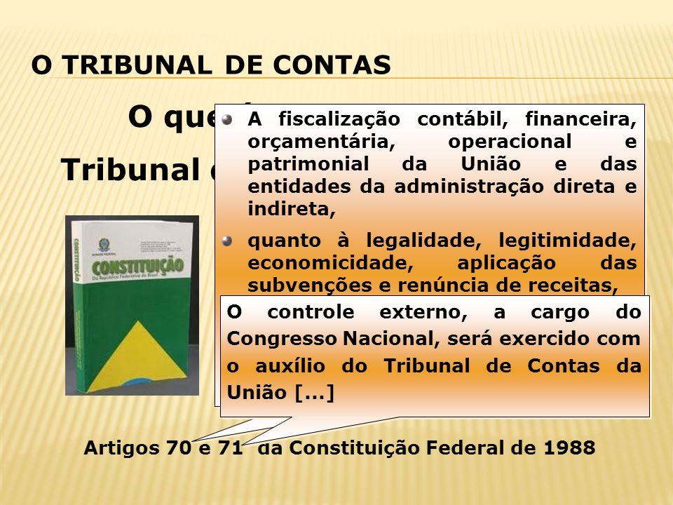 O que é e para que serve o Tribunal de Contas