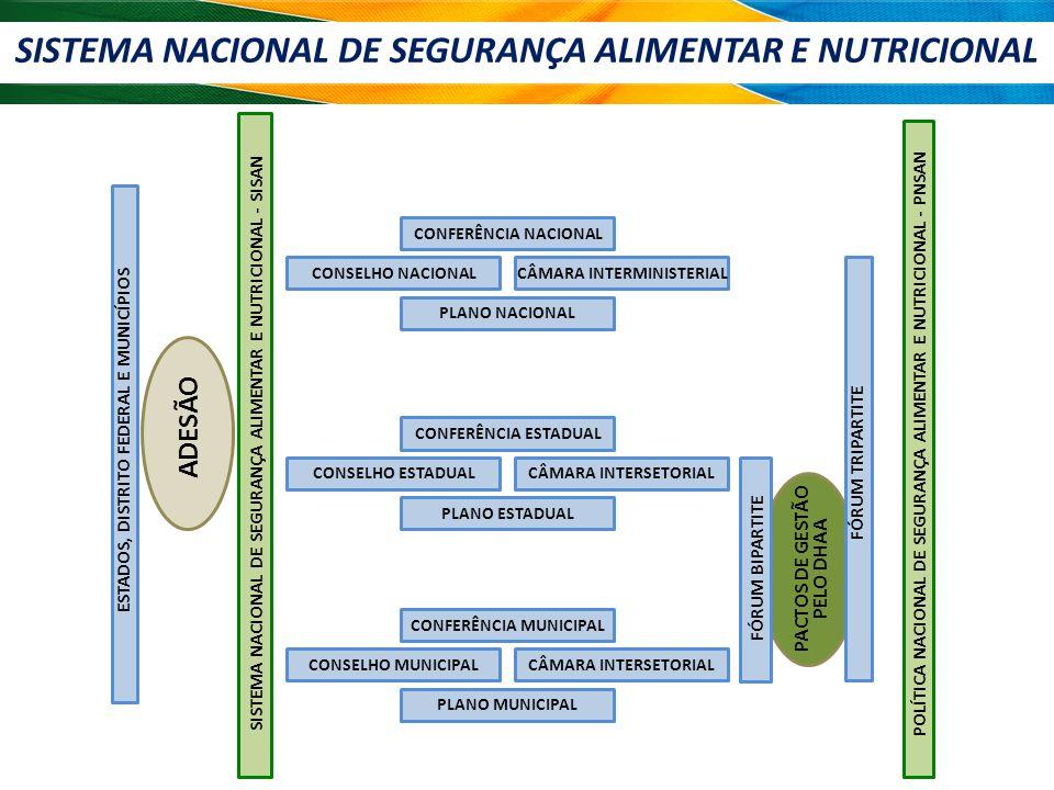 SISTEMA NACIONAL DE SEGURANÇA ALIMENTAR E NUTRICIONAL