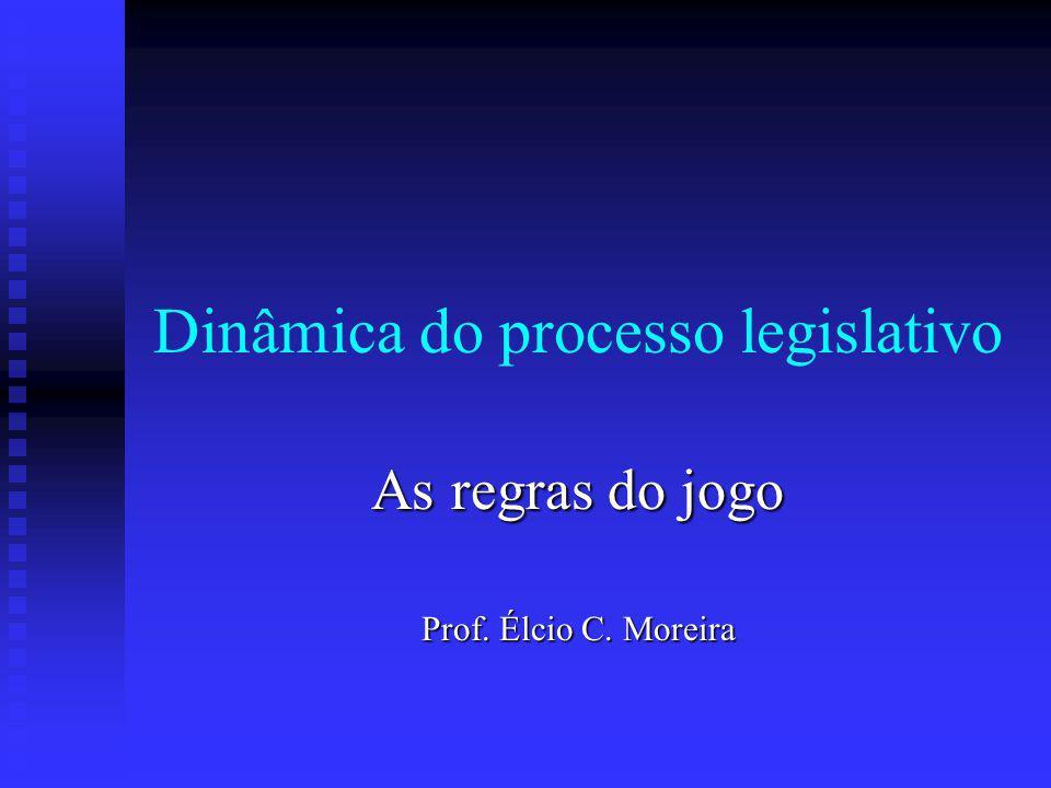Dinâmica do processo legislativo