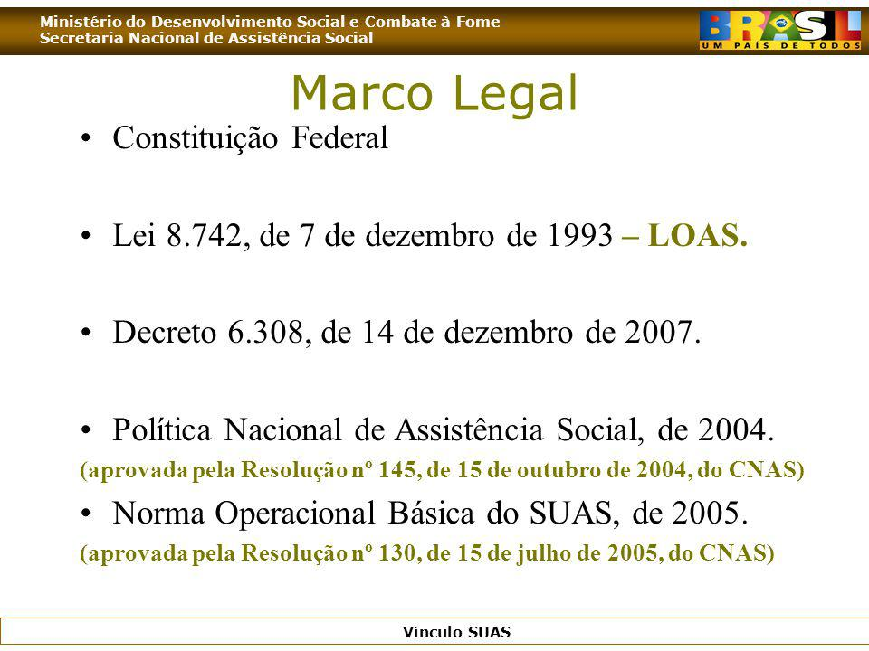 Marco Legal Constituição Federal
