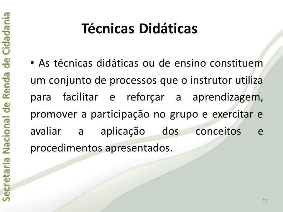 Técnicas Didáticas