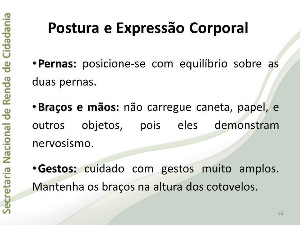 Postura e Expressão Corporal