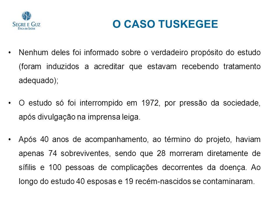 O CASO TUSKEGEE