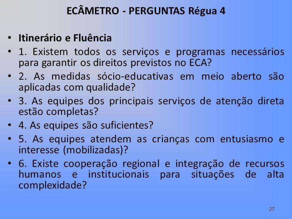 ECÂMETRO - PERGUNTAS Régua 4
