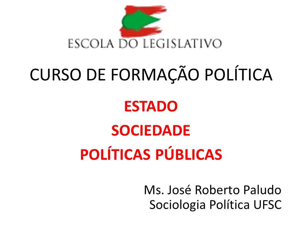 CURSO DE FORMAÇÃO POLÍTICA