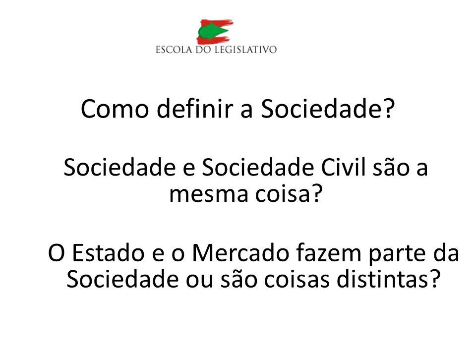 Como definir a Sociedade