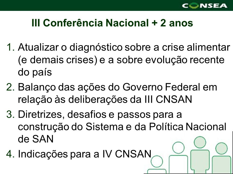 III Conferência Nacional + 2 anos