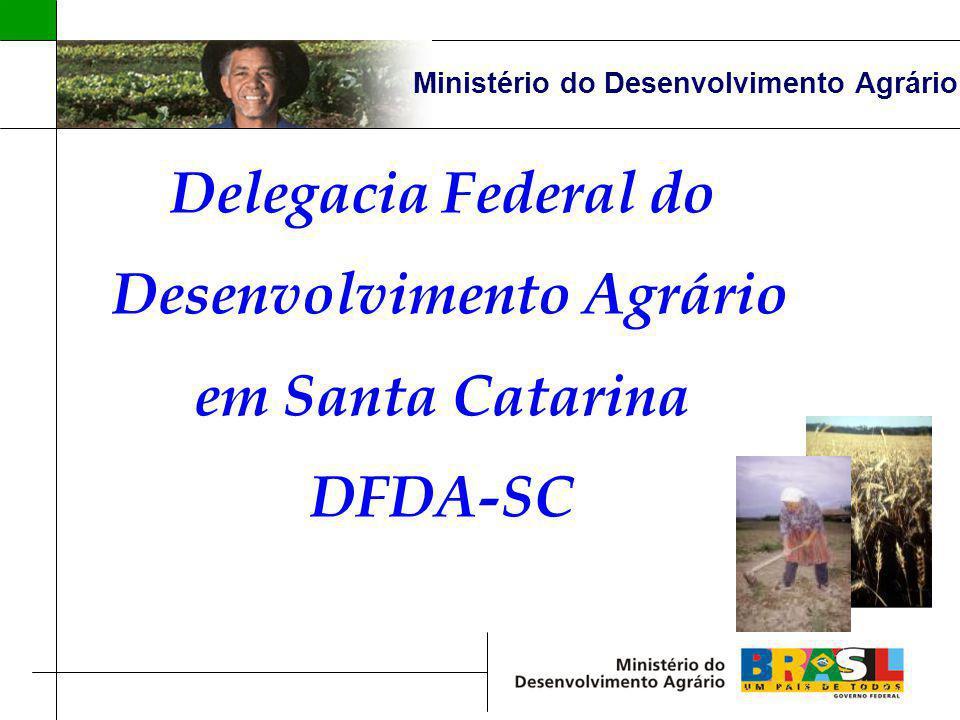 Ministério do Desenvolvimento Agrário Desenvolvimento Agrário