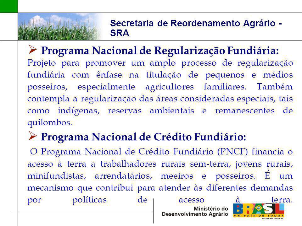 Programa Nacional de Regularização Fundiária: