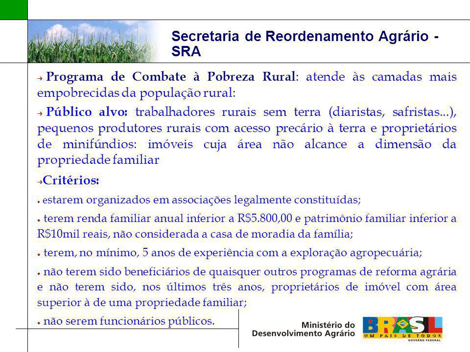 Secretaria de Reordenamento Agrário - SRA