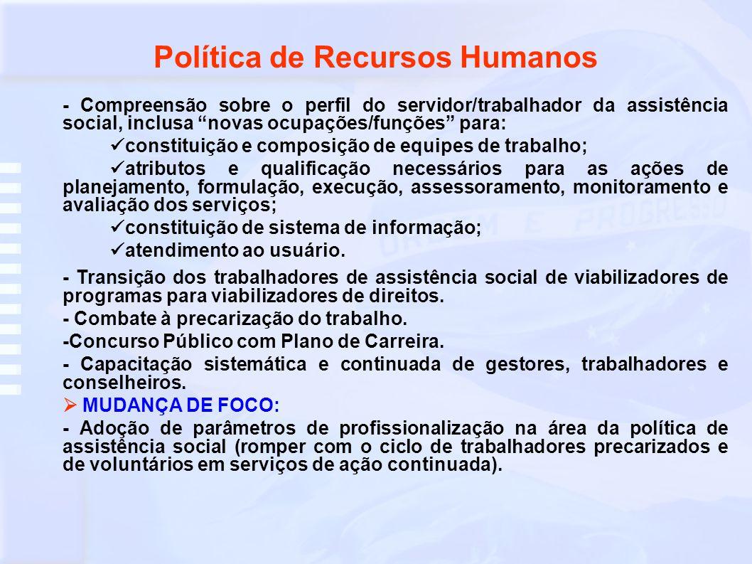 Política de Recursos Humanos