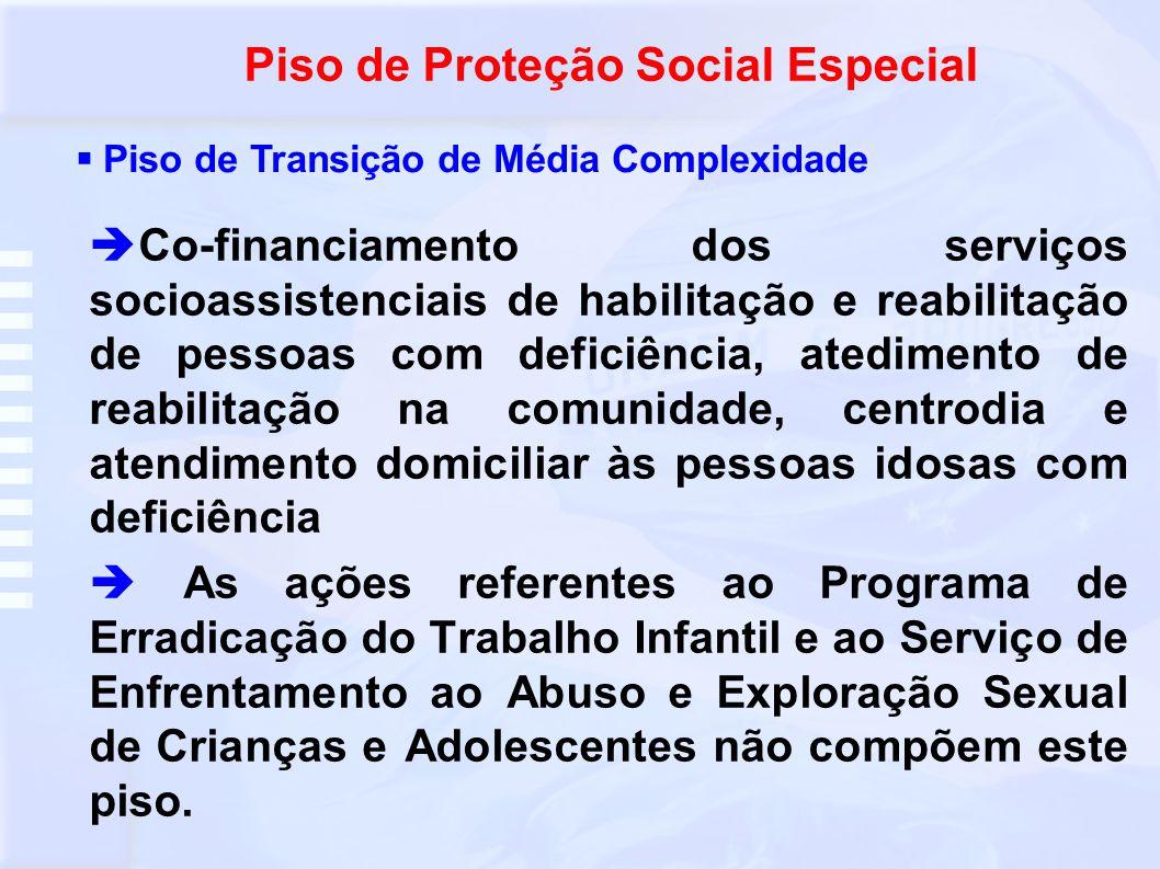 Piso de Proteção Social Especial