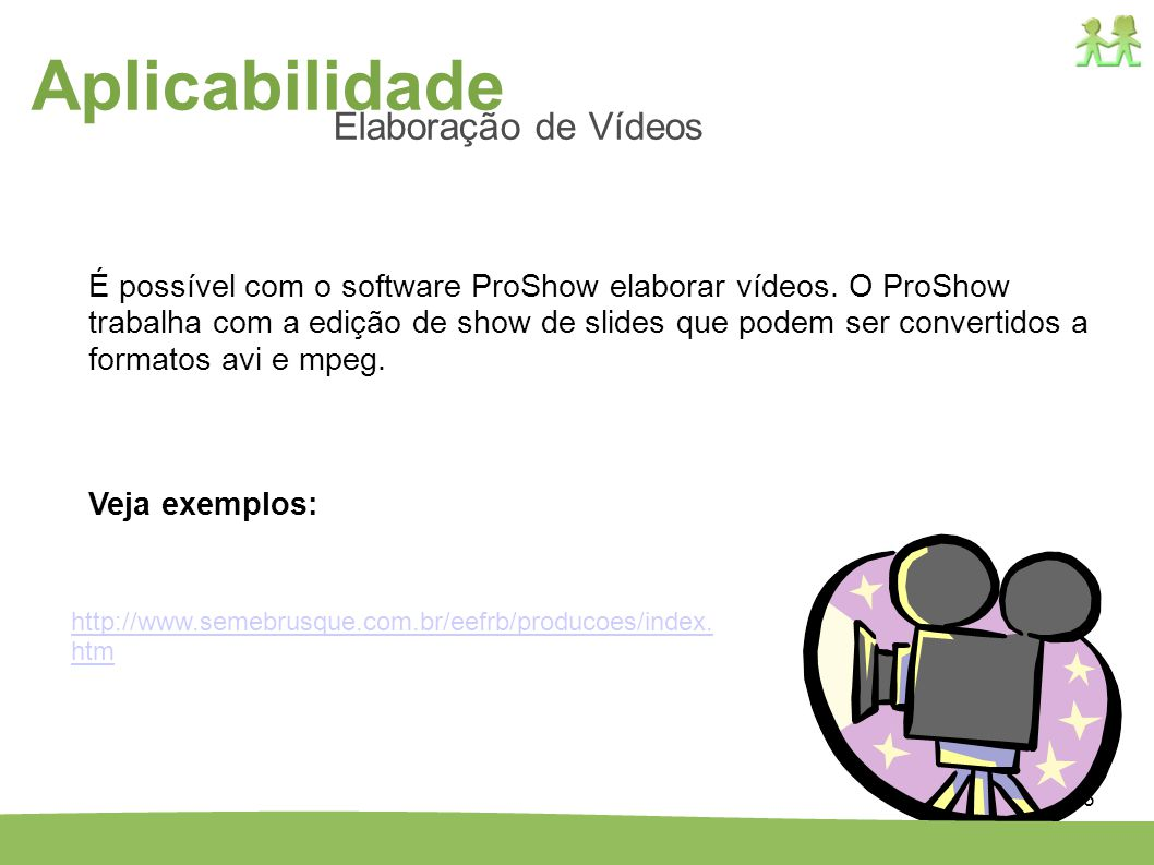 Aplicabilidade Elaboração de Vídeos