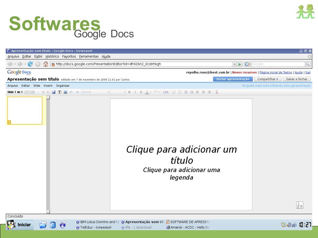 Softwares Google Docs