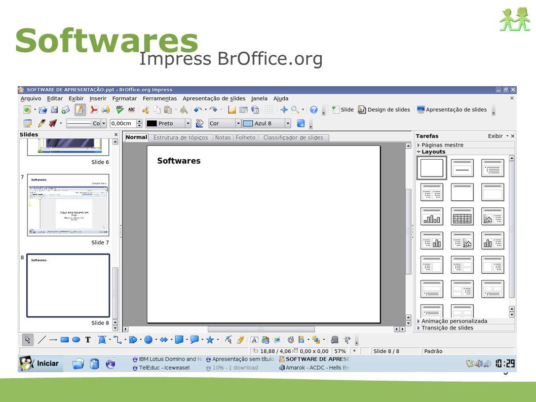 Softwares Impress BrOffice.org