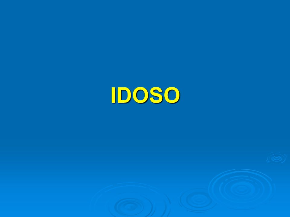 IDOSO